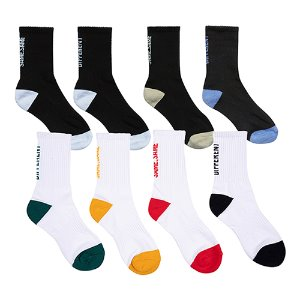 1+1 MISMATCH COLOR SOCKS SET
